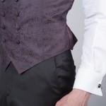 gilet pantalon costume de cérémonie marron