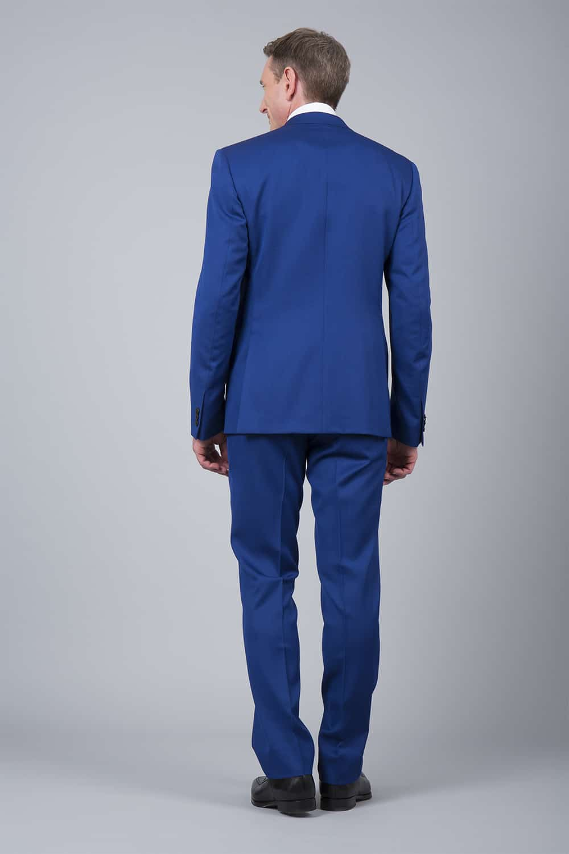 fente costume bleu roi 2p paris