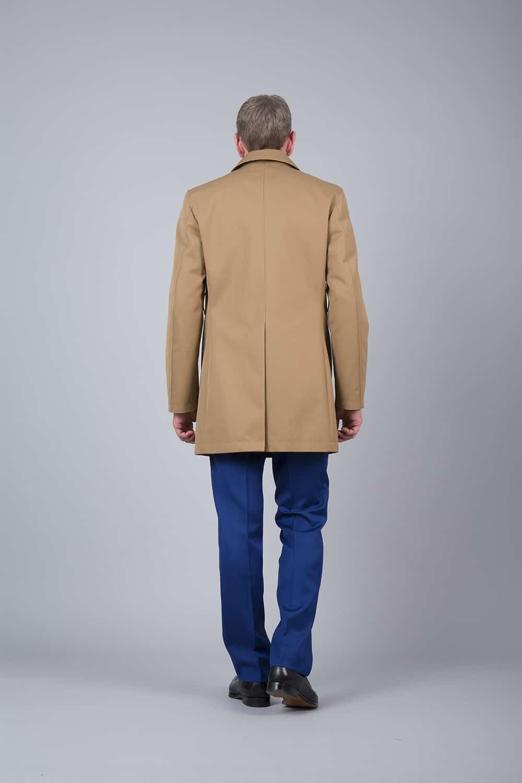 fente milieu dos trench coat