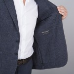 doublure veste grise tailleur