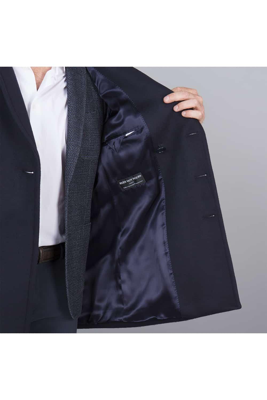 intérieur doublé poche zip