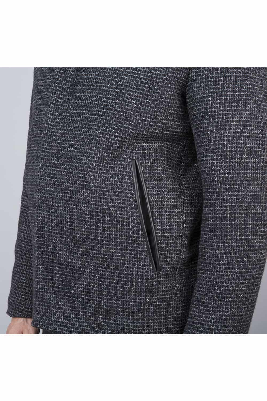 poches blouson noir