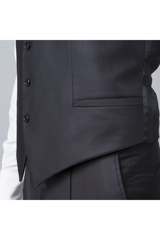 cérémonie jaquette marron tailleur paris poche gilet