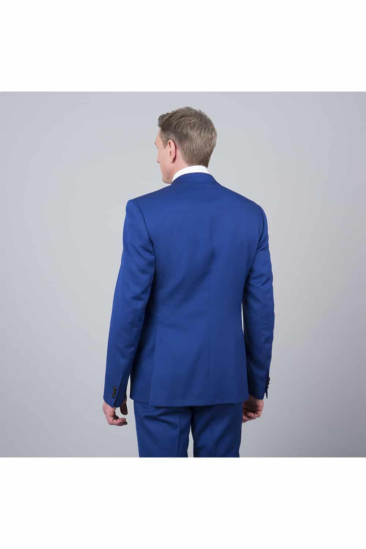 veste costume bleu roi
