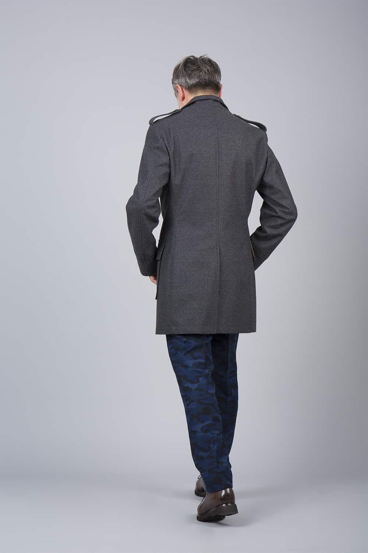 fente milieu dos manteau