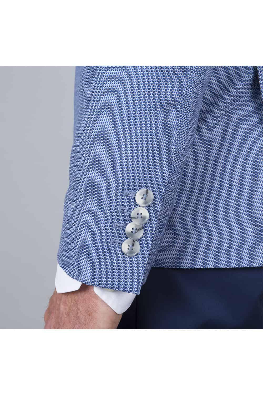 manche boutons veste bleu été