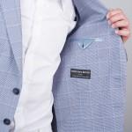 veste bleu été tailleur