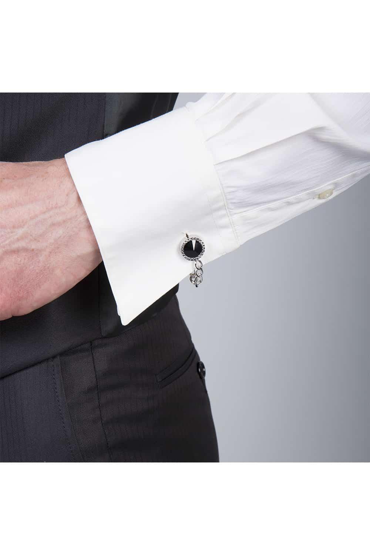 cérémonie jaquette marron tailleur paris manche chemise