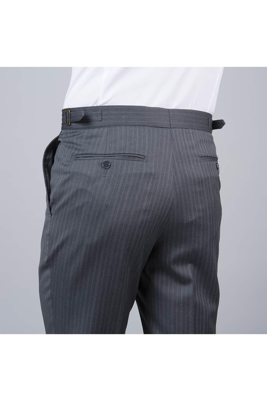 cérémonie jaquette bleue grise tailleur paris arrière pantalon
