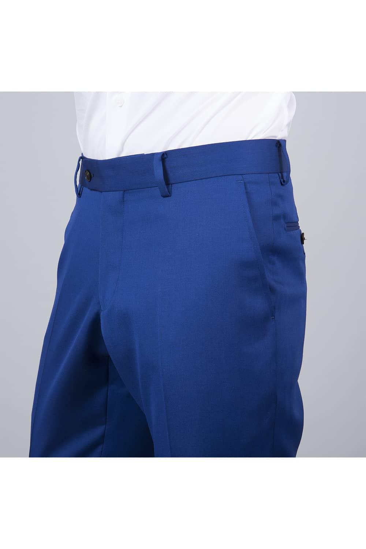 pantalon costume bleu roi 2p paris