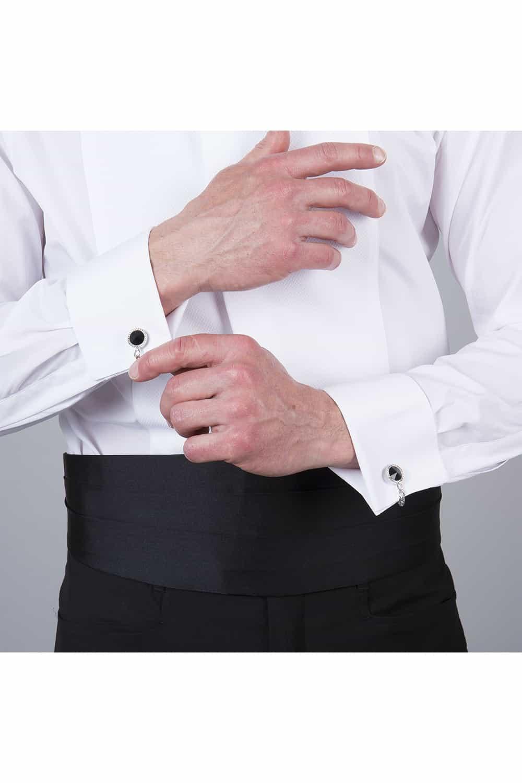 cérémonie smoking bleue tailleur paris chemise