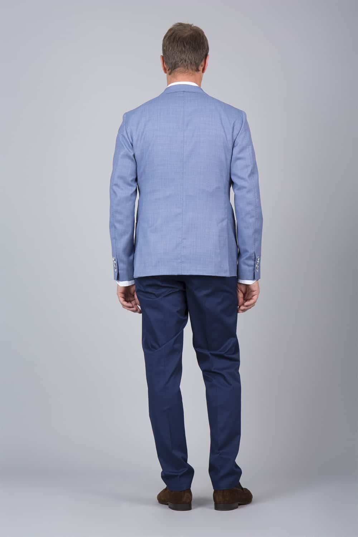 dos non doublé veste bleu