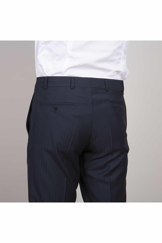 cérémonie tenue de mariage redingote bleue tailleur paris pantalon arriere