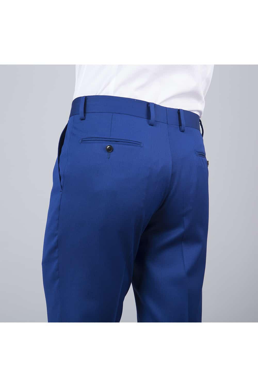 pantalon costume bleu roi