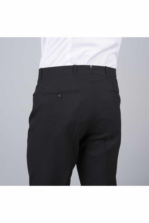 cérémonie smoking blanc tailleur paris pantalon face arrière